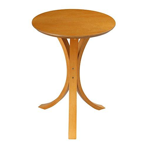 日本インテリア 丸型 円形 木製 ラウンド テーブル 寝室 ナイトテーブル ナチュラル