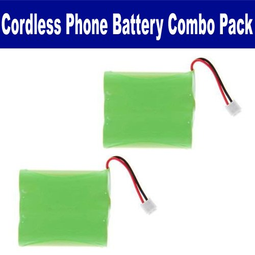 GE 2-9512 Cordless Phone Battery Combo-Pack includes: 2 x UL126 Batteries image