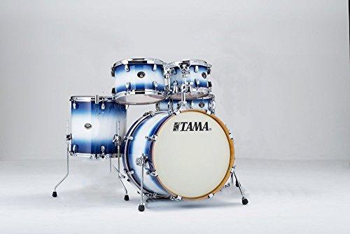 tama-silverstar-5-piece-drum-kit-jet-blue-burst-shell-pack-20-bass-drum-10-12-toms-14-floor-tom