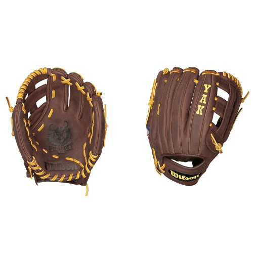 Wilson A1500 DW5 YAK Infielder's Throw Baseball Glove (11.75-Inch)