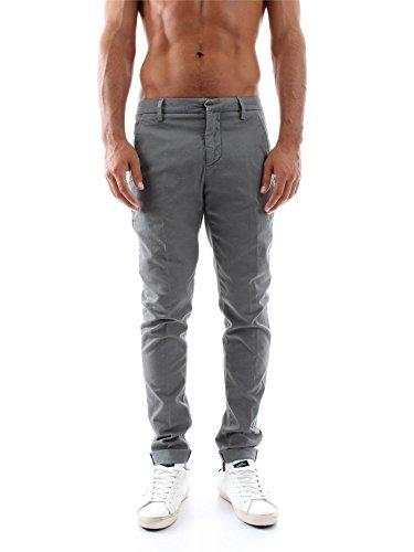 DONDUP GAUBERT UP235 CS056U GREY PANTALONE Uomo GREY 36