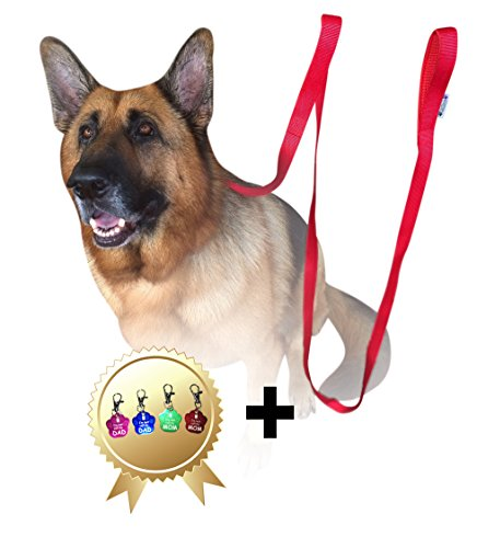 lead-dog-25m-red-dog-leads-long-double-handle-lead-for-large-dogs-bonus-dog-tag-extra-long-dog-lead-