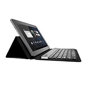 Kensington KeyFolio Expert Multi-Angle Folio/Bluetooth Keyboard Case for 10-Inch Windows/Android Tablets (K39532US)