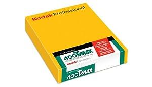 Kodak 843 8202 400 TMAX Professional ISO 400, 4X5 (50 Sheets) Black and White Film (Yellow) at Sears.com