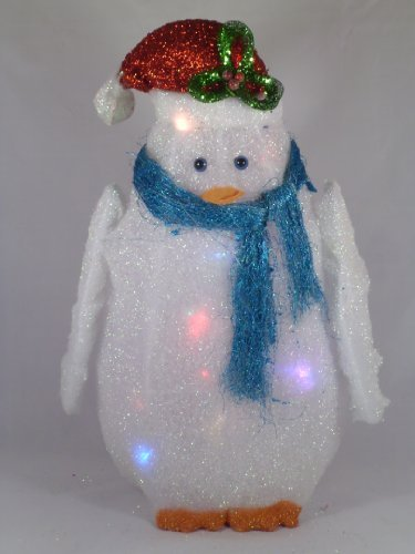 Christmas Concepts 41Cm Penguin With Colour Changing Multi Lights (Ra124)