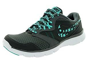 Nike Women's Flex Experience Rn 3 Anthracite/Lt Rtr/Drk Gry/Wht Running Shoe 6.5 Women US