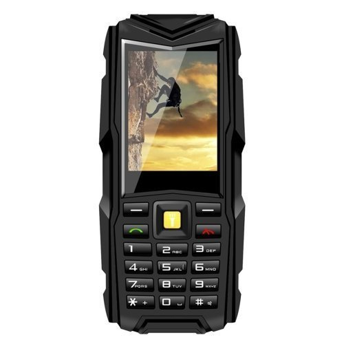5200mAh Long Standby Rugged Mobile Phone with Waterproof Shockproof Dustproof Unlocked Phone for Elderly People Adventurers Army Cellphone(Black) (Mobile Phone Sale compare prices)