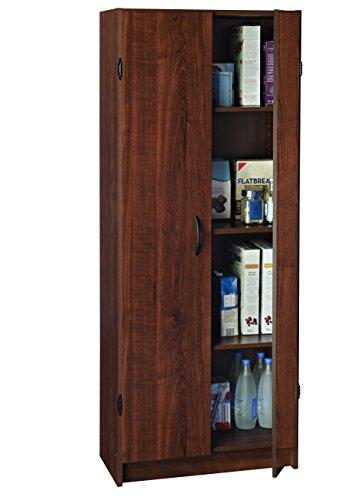Closetmaid 1308 Pantry Cabinet Dark Cherry Furniture Cabinets Storage Pantries