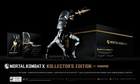 Mortal Kombat X Kollector's Edition by Coarse - PlayStation 4