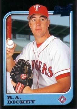1997 Bowman Baseball #81 R.A. Dickey Rookie Card