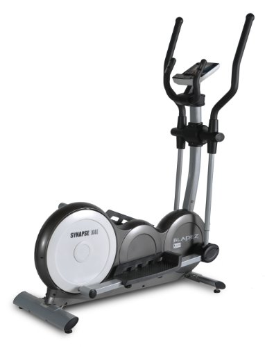 Bladez Fitness Synapse Elliptical - SX4i - A Total Body Workout And Natural Feel With An 18 Inch Stride For Maximum Comfort - Ultra Smooth Heavyweight Flywheel To Maintain Consistent Momentum - Easy To Read LCD Console Provides 26 Preset Programs