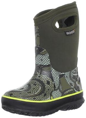 Amazon.com: Bogs Kids Classic Snake Waterproof Winter