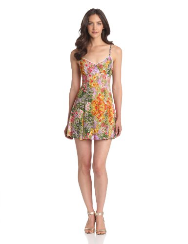 MINKPINK Women's Paint By Numbers Sundress, Floral, X-Small