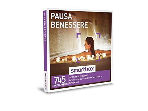 SMARTBOX - Cofanetto Regalo - PAUSA BENESSERE - Percorsi relax, trattamenti benessere e bellezza