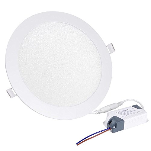 Yescom 20pcs 15W Round LED Recessed Ceiling Panel