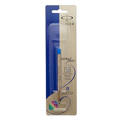 Parker QuinkFlow Blue Ball Point Pen Refill - Medium