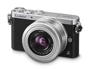 Panasonic Lumix DMC-GM1KEB-S Compact System Digital Camera with 12-32mm Lens - Silver