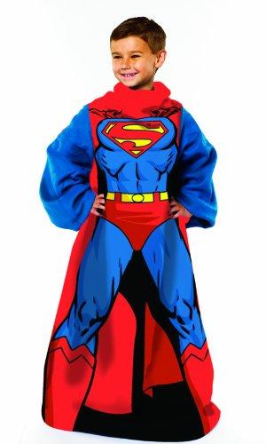 juvenile-comfy-copriletto-dc-comic-being-superman-nuova-1219-x-1219-cm-coperta