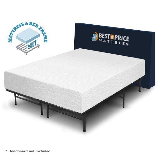 Best Price Mattress 12 Memory Foam Mattress And Bed Frame Set Full My Home