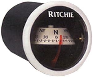 Ritchie Navigation X-21WW 2 White Dash Mount Compass by Ritchie