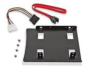 Poppstar Einbau-Kit für interne SSD/HDD inkl. Einbaurahmen für 6,4 cm (2,5 Zoll)