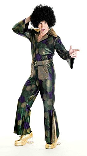 Papermagic Mens Retro Disco Fever Cool Theme Party Fancy Dress Costume