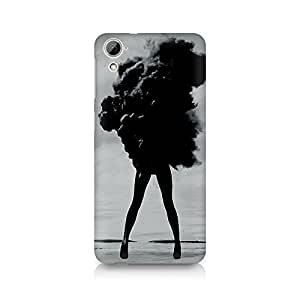 Mobicture Girl Abstract Premium Printed Case For HTC Desire 826