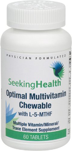 SEEKING HEALTH - MULTIVITAMINES A CROQUER - 60