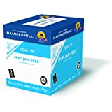 Hammermill Tidal, 8 1/2 x 11 Inch, 3 Hole Punched, 20 lb., 92 Bright, 2500 sheets/ Express Pack, (163130)