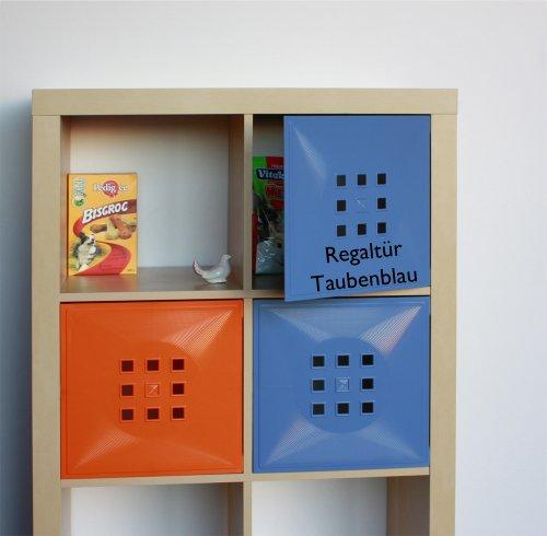 designer regal t r als facheinsatz ca 33 6cm x 33 6cm. Black Bedroom Furniture Sets. Home Design Ideas