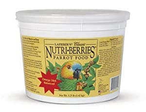Lafeber Classic Parrot Nutri-Berries 3.25 lb Tub