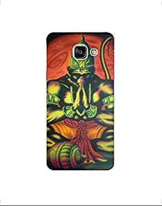SAMSUNG GALAXY A5(2016) nkt01 (66) Mobile Case By Mott2 - Praying Hanuman - Ram (Limited Time Offers,Please Check the Details Below)