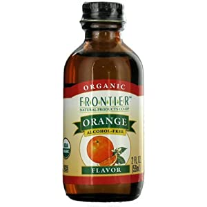 Frontier Herb Organic Organge Flavor, Alcohol Free 2 oz.