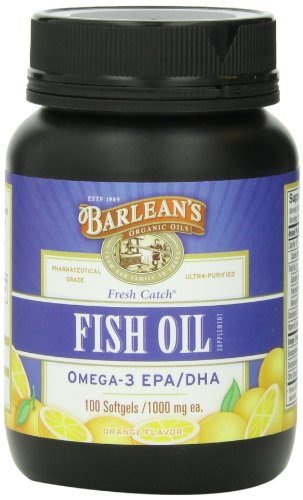 Barlean's Organic Oils - Fish Oil, 100 softgels