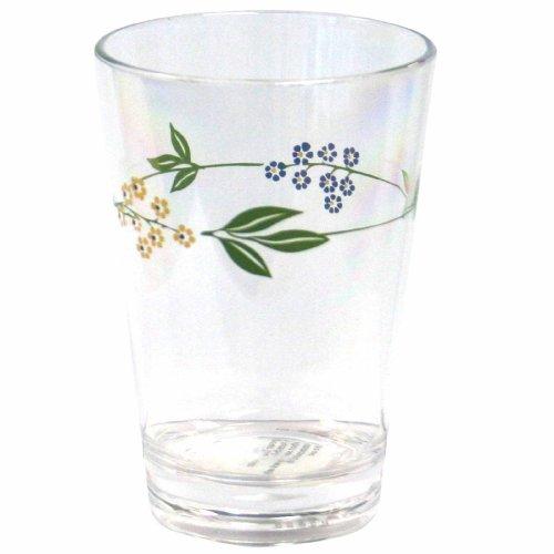 Corelle Coordinates Secret Garden 8-Ounce Acrylic Glass, Set of 6