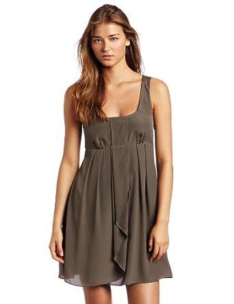 Jessica Simpson Womens Racer Back Tank Dress, Canteen, 2
