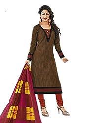 Aarvi Women's Cotton Unstiched Dress Material Multicolor -CV00068
