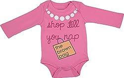 Lil Penguin Baby Girls' Cotton Romper (LP03G1, Pink, 0-3 months)