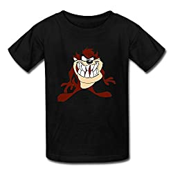 Rose Memery Teenage Tasmanian Devil Taz Looney Tunes Animated Cartoon T Shirts