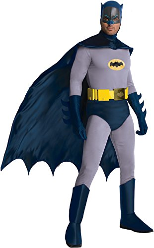 Rubie's Costume Grand Heritage Classic TV Batman Circa 1966, Blue/Gray, X-large Costume (Blue Batman Cowl compare prices)
