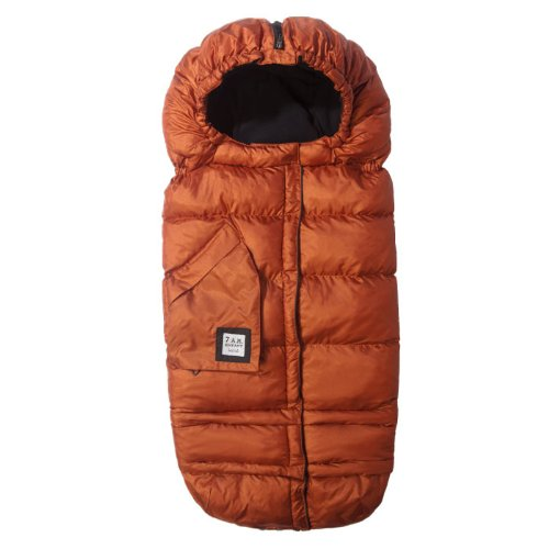 Imagen de 7 a.m. Enfant Extensible Bag Bunting bebé Adaptable para cochecitos, cobre metálico
