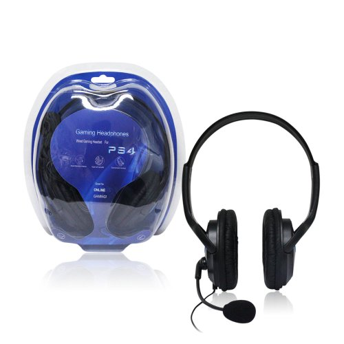 Agptek® New Wired Gaming Headset/Headphones For Ps4 Playstation 4 And Pc Extra Bass