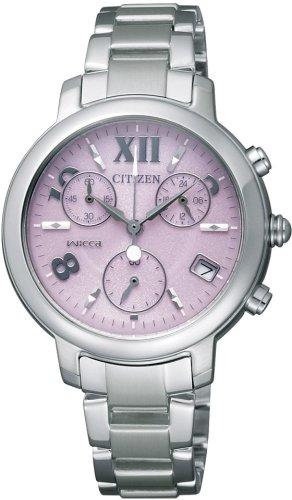 CITIZEN (シチズン) 腕時計 wicca ウィッカ Eco-Drive エコ・ドライブ クロノグラフ NA15-1603F レディース