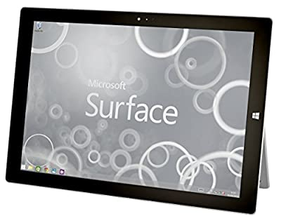 Microsoft Surface Pro 3 Tablet PC - Intel Core i5-4300U 1.9GHz 4GB 128GB SSD Windows 10.1 (Certified Refurbished)