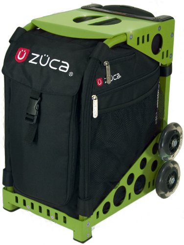 Zuca bags especially excelled in figure skating as a prime choice for an ice skating bag for all ice skaters big or small. Zuca bag is a unique creation and allows its user to be creative from the start. Zuca bag consists of a Zuca frame and a zuca insert. Those two components make a Zuca bag.
