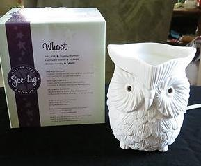 "Scentsy Warmer ""Whoot"" Premium Full Size for Melting Wax"