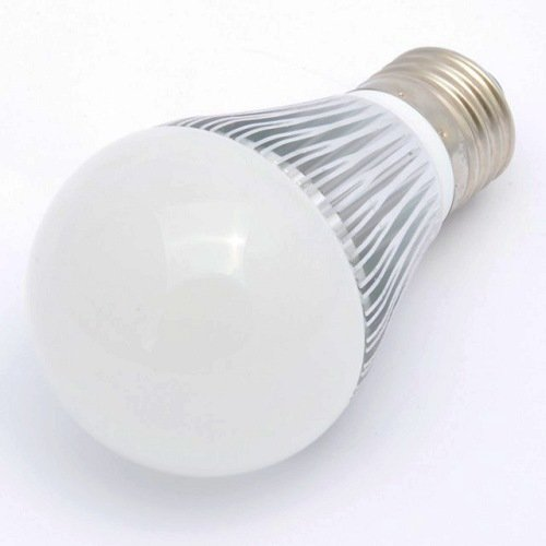 Dimmable E26 A60 Standard Household Base 50 Watt Incandescent Light Bulb Replacement with a 6 Watt LED, Warm White, 1012ww