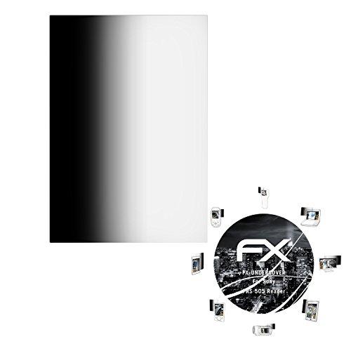 atFoliX Blickschutzfilter Sony PRS 505 Reader Blickschutzfolie - FX-Undercover 4-Wege Sichtschutz, Schutz vor neugierigen Blicken