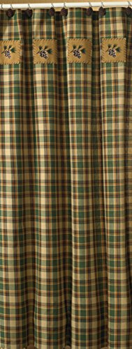 "Park Designs Scotch Pine Shower Curtain, 72 x 72"""