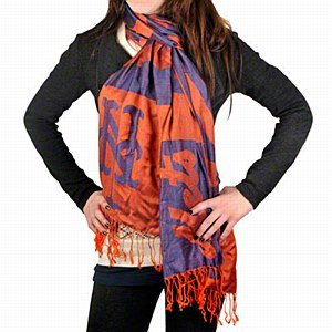 MLB New York Mets 2011 Pashmina Scarf at Amazon.com